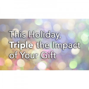 Triple your gift