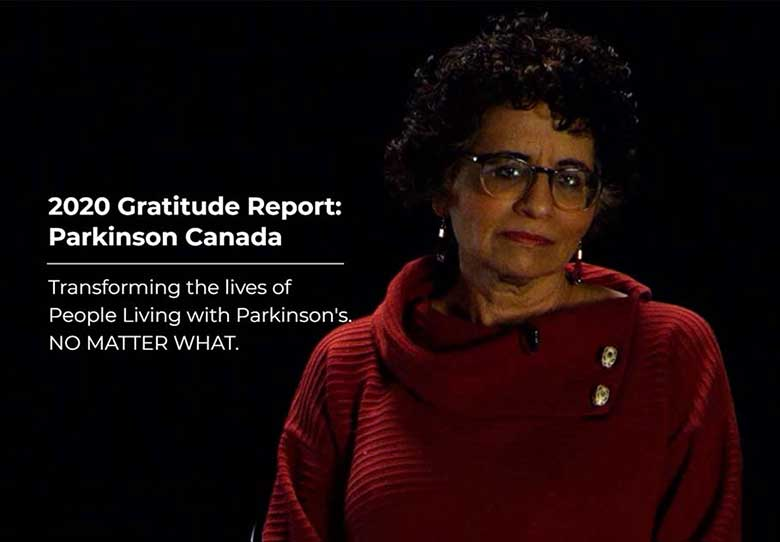 2020 Gratitude Report: Parkinson Canada