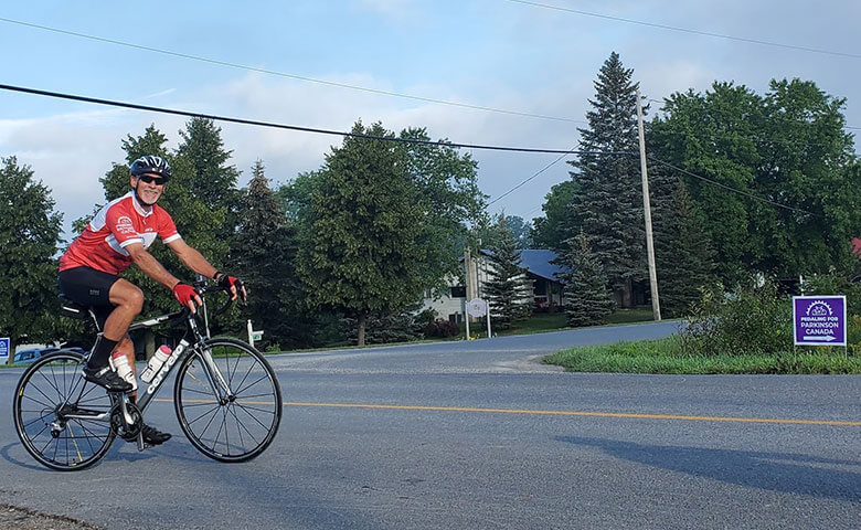Pedaling on the streets of Hamilton