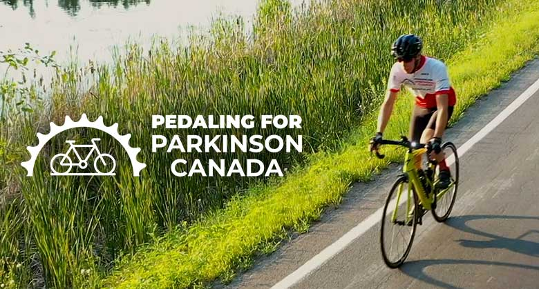 Pedaling for Parkinson Canada