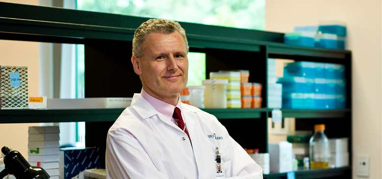 Dr. Michael Schlossmacher led a study that made a parkin gene discovery